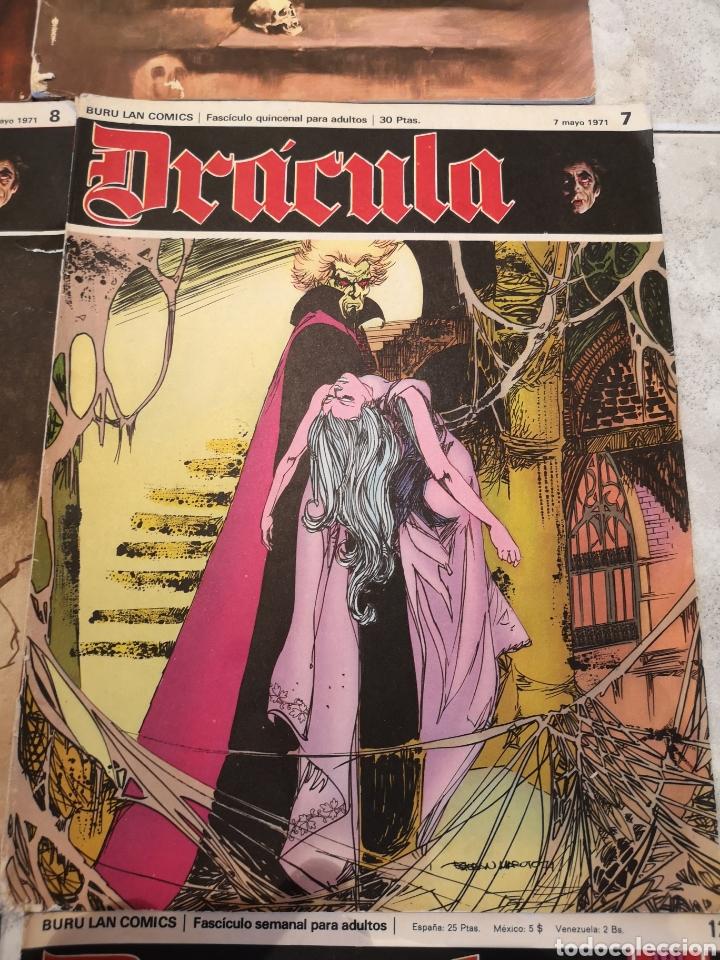 Cómics: Lote de 12 Comics Drácula Buru Lan Comics 1971 - Foto 7 - 221093665