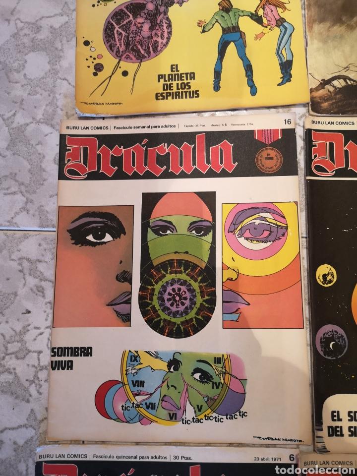 Cómics: Lote de 12 Comics Drácula Buru Lan Comics 1971 - Foto 8 - 221093665