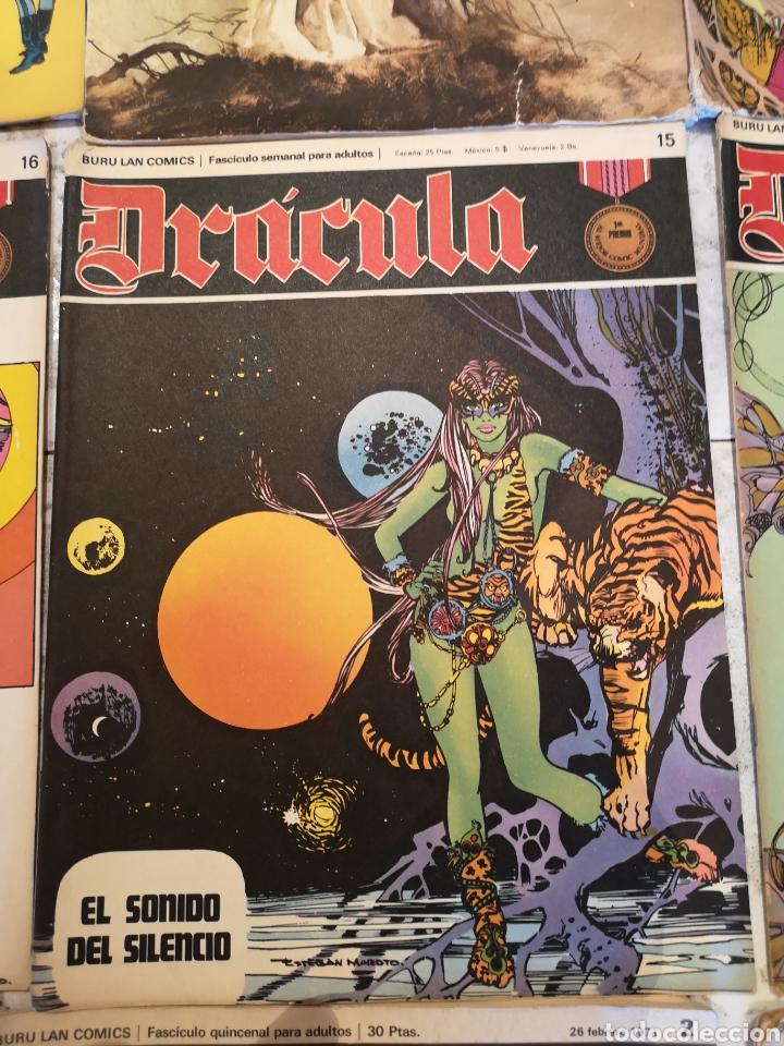Cómics: Lote de 12 Comics Drácula Buru Lan Comics 1971 - Foto 9 - 221093665