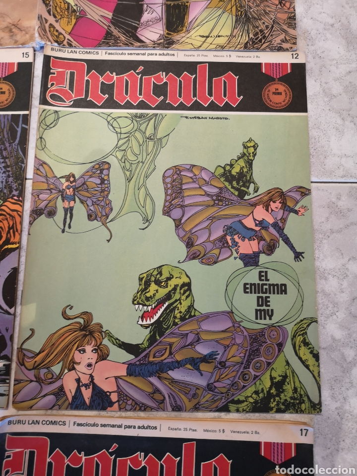Cómics: Lote de 12 Comics Drácula Buru Lan Comics 1971 - Foto 10 - 221093665