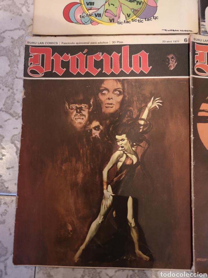 Cómics: Lote de 12 Comics Drácula Buru Lan Comics 1971 - Foto 11 - 221093665