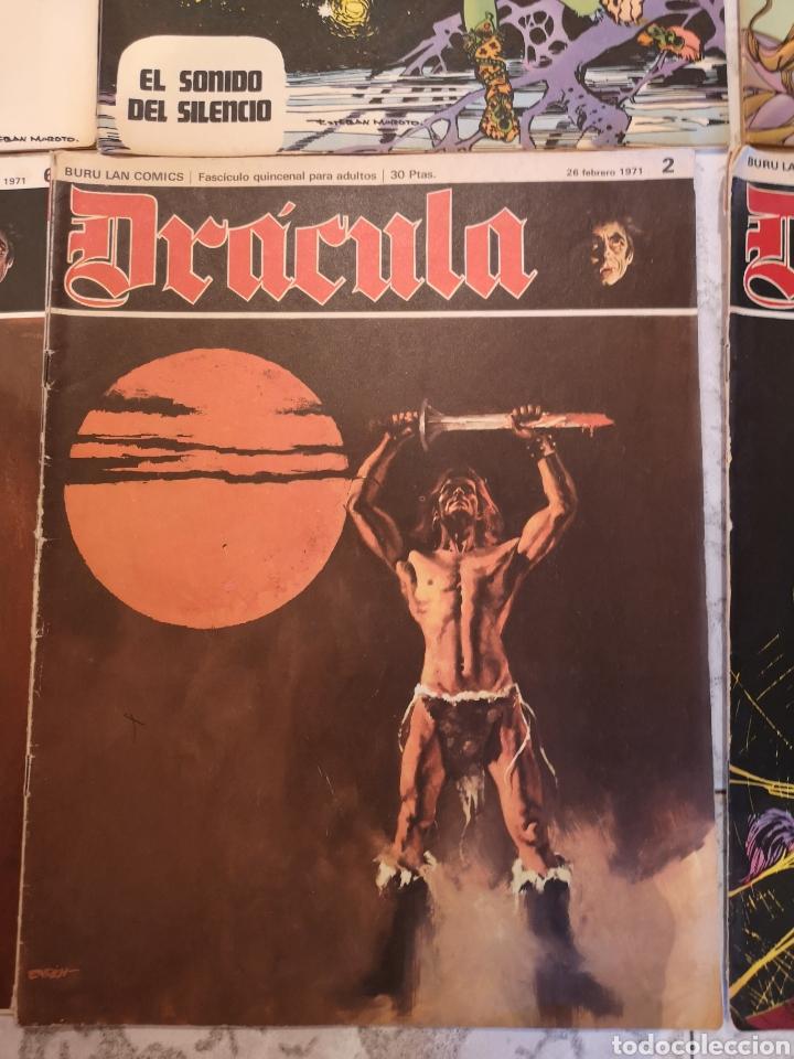 Cómics: Lote de 12 Comics Drácula Buru Lan Comics 1971 - Foto 12 - 221093665