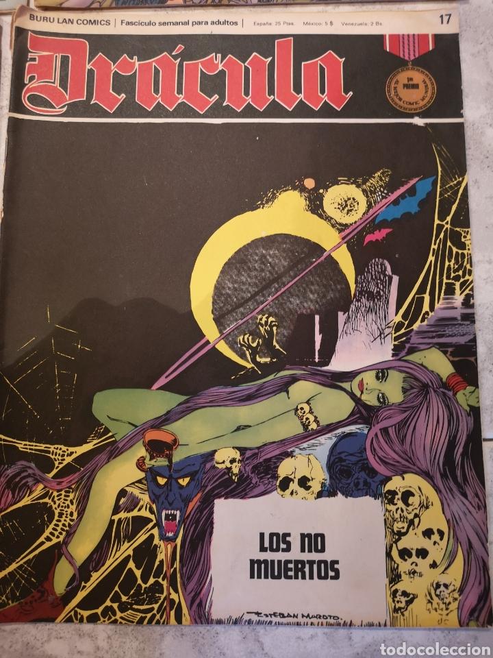 Cómics: Lote de 12 Comics Drácula Buru Lan Comics 1971 - Foto 13 - 221093665