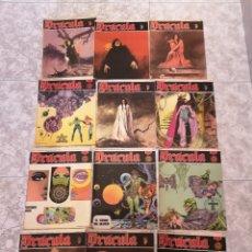Cómics: LOTE DE 12 COMICS DRÁCULA BURU LAN COMICS 1971. Lote 221093665