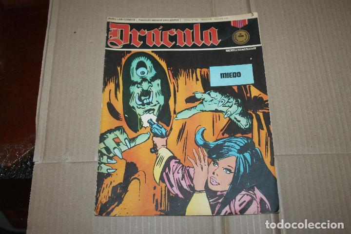 DRÁCULA Nº 3, EDITORIAL BURU-LAN (Tebeos y Comics - Buru-Lan - Drácula)