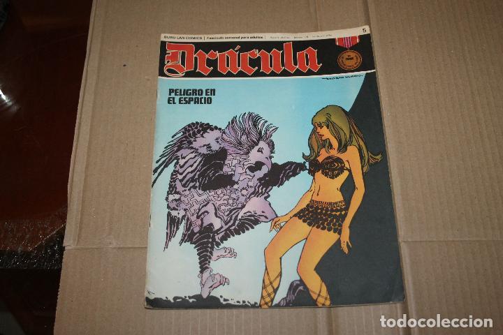 DRÁCULA Nº 5, EDITORIAL BURU-LAN (Tebeos y Comics - Buru-Lan - Drácula)