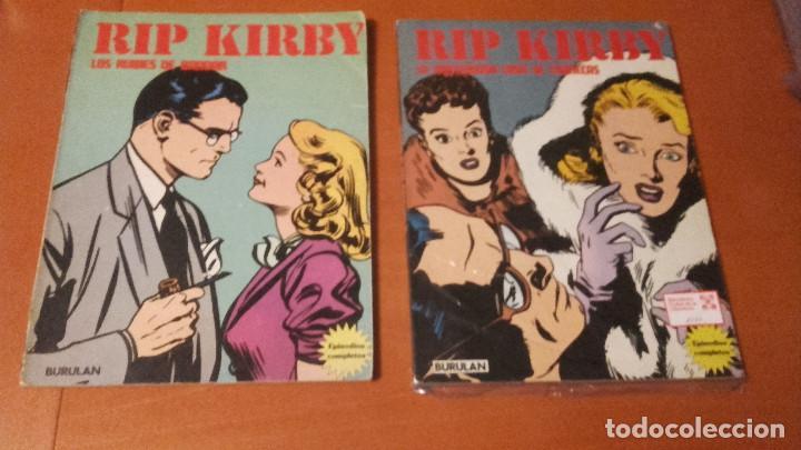 RIP KIRBY LOTE 2 RETAPADOS BURULAN (Tebeos y Comics - Buru-Lan - Rip Kirby)