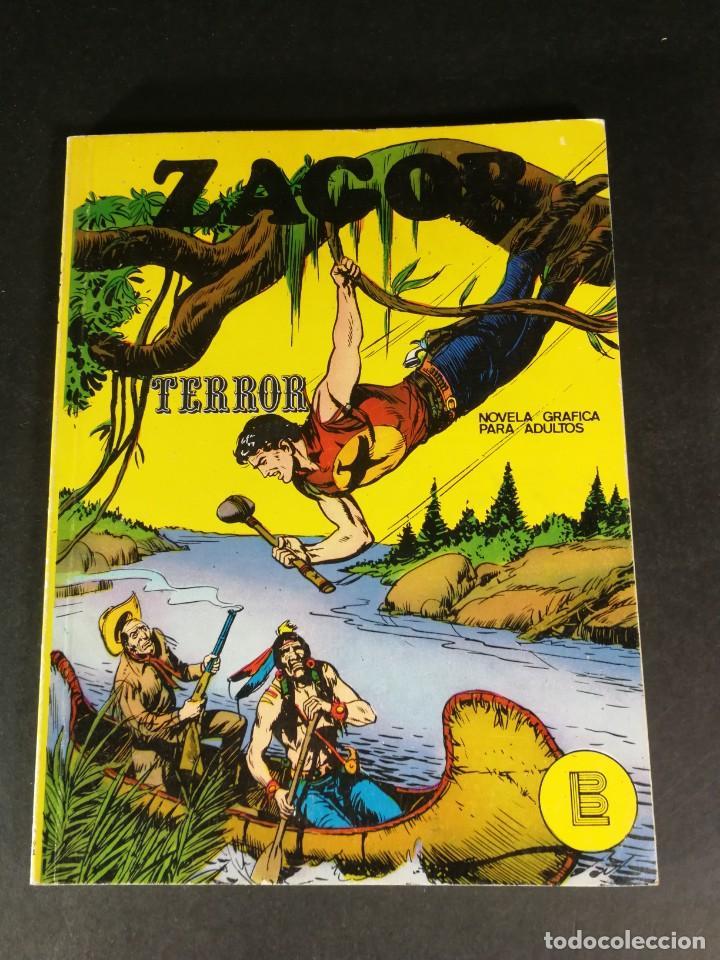 ZAGOR 2 TERROR BURU LAN - BURULAN 1971 MUY DIFICIL BUEN ESTADO (Tebeos y Comics - Buru-Lan - Zagor)