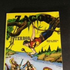 Cómics: ZAGOR 2 TERROR BURU LAN - BURULAN 1971 MUY DIFICIL BUEN ESTADO. Lote 221876471