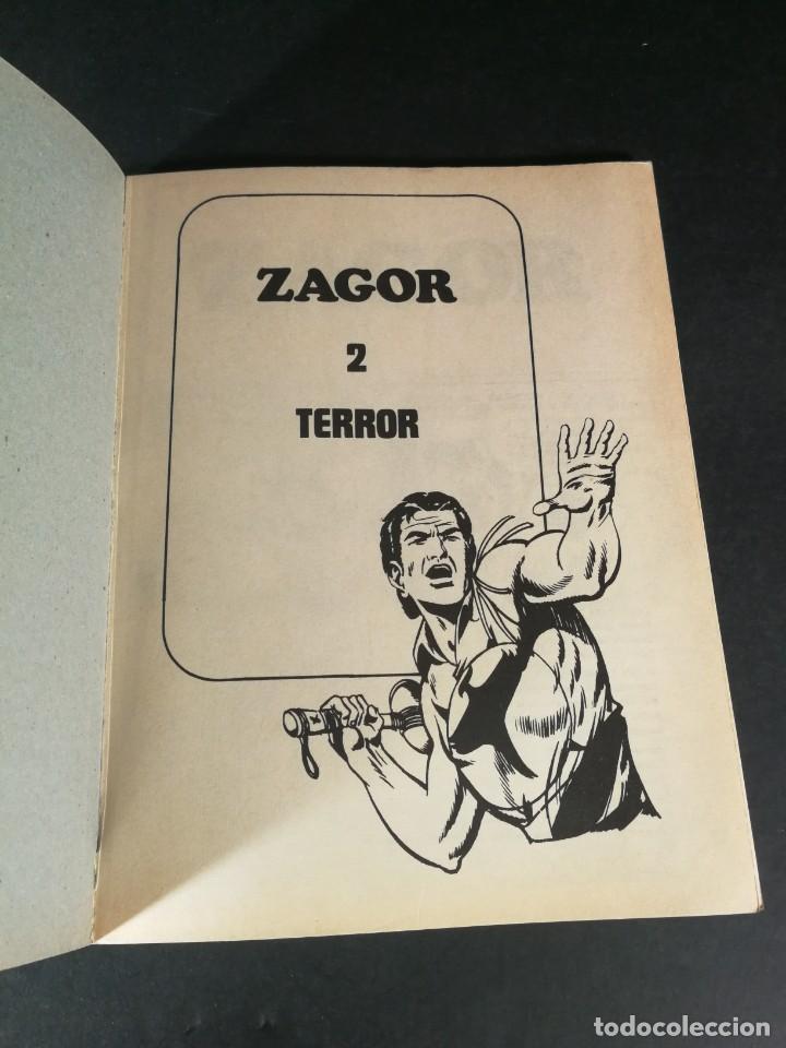 Cómics: Zagor 2 Terror Buru lan - Burulan 1971 muy dificil buen estado - Foto 2 - 221876471