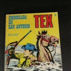 Cómics: TEX 36 EMBOSCADA EN SAN ANTONIO BURU LAN BURULAN 1972. Lote 221878960