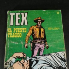 Cómics: TEX 32 EL PUENTE TRÁGICO BURU LAN BURULAN 1971. Lote 221879070