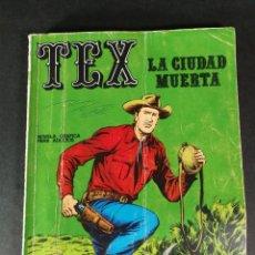 Cómics: TEX 5 LA CIUDAD MUERTA BURU LAN BURULAN 1970. Lote 221879367