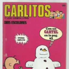 Cómics: CARLITOS 26: DÍAS ESCOLARES, 1973, BURU LAN. COLECCIÓN A.T.. Lote 221906020