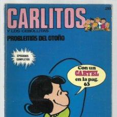 Cómics: CARLITOS 28: PROBLEMAS DEL OTOÑO, 1973, BURU LAN. COLECCIÓN A.T.. Lote 221906676