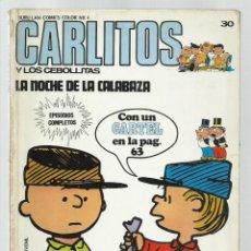 Cómics: CARLITOS 30: LA NOCHE DE LA CALABAZA, 1973, BURU LAN. COLECCIÓN A.T.. Lote 221907162