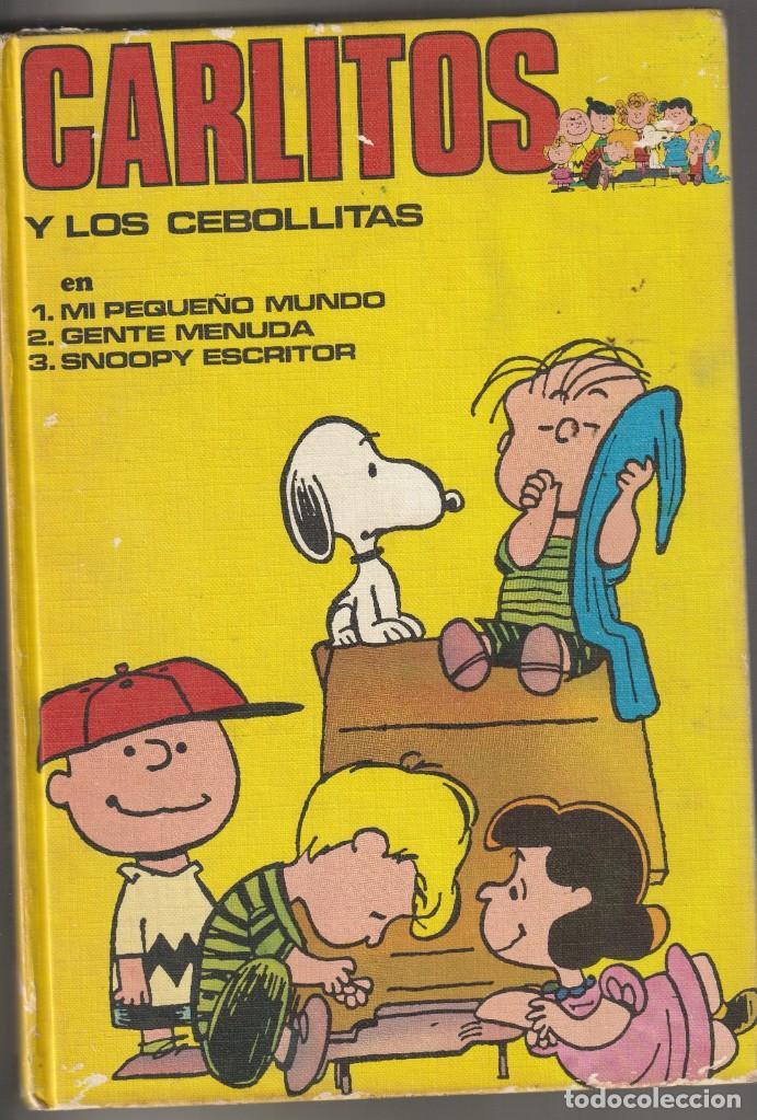 CARLITOS Y LOS CEBOLLITAS TOMO I BURU LAN 1971. CHARLES SCHULTZ (Tebeos y Comics - Buru-Lan - Otros)