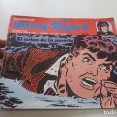 Cómics: JOHNNY HAZARD. Nº 11. EL AVIÓN DE LA MUERTE. BURU LAN 1974 BURULAN BURU LAN CX74. Lote 221951557