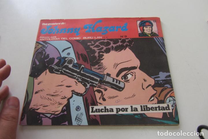 JOHNNY HAZARD - Nº 9 LUCHA POR LA LIBERTAD BURU LAN 1974 BURULAN BURU LAN CX74 (Tebeos y Comics - Buru-Lan - Otros)