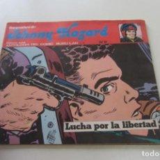 Cómics: JOHNNY HAZARD - Nº 9 LUCHA POR LA LIBERTAD BURU LAN 1974 BURULAN BURU LAN CX74. Lote 221951631