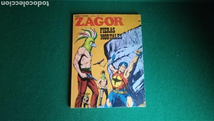 ZAGOR BURU LAN - 1ª EDICIÓN - Nº 58 - BUEN ESTADO (Tebeos y Comics - Buru-Lan - Zagor)