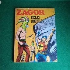 Cómics: ZAGOR BURU LAN - 1ª EDICIÓN - Nº 58 - BUEN ESTADO. Lote 221324282
