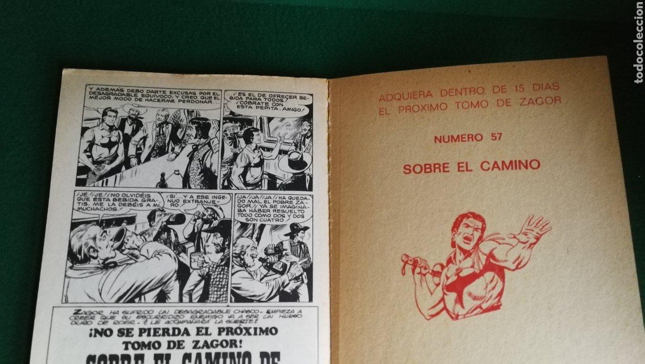 Cómics: ZAGOR BURU LAN - 1ª EDICIÓN - Nº 56 - MUY BUEN ESTADO - Foto 3 - 221324251
