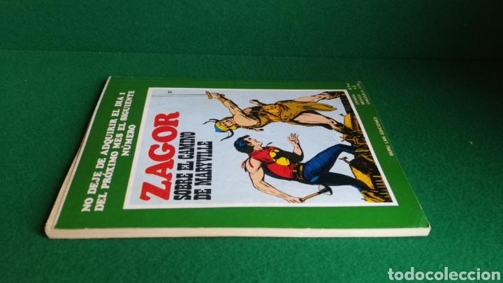 Cómics: ZAGOR BURU LAN - 1ª EDICIÓN - Nº 56 - MUY BUEN ESTADO - Foto 5 - 221324251