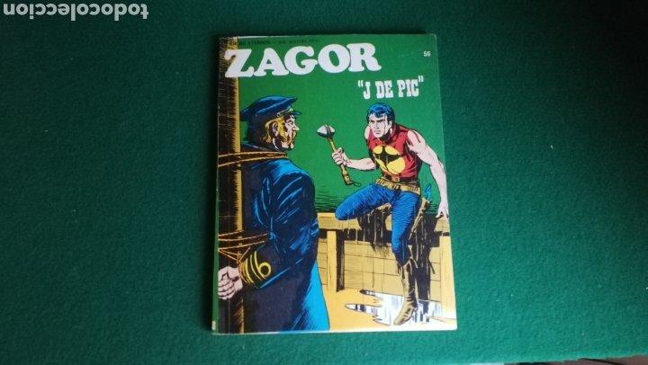 ZAGOR BURU LAN - 1ª EDICIÓN - Nº 56 - MUY BUEN ESTADO (Tebeos y Comics - Buru-Lan - Zagor)