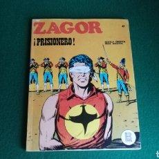 Cómics: ZAGOR BURU LAN - 1ª EDICIÓN - Nº 47 - BUEN ESTADO. Lote 221324127