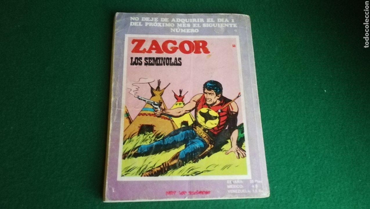 Cómics: ZAGOR BURU LAN - 1ª EDICIÓN - Nº 52 - Foto 2 - 221324182