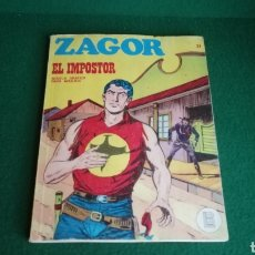 Cómics: ZAGOR BURU LAN - 1ª EDICIÓN - Nº 21 - BUEN ESTADO. Lote 221323845