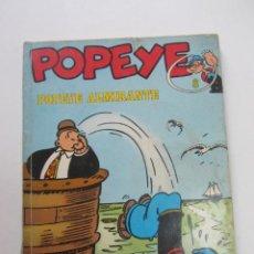 Cómics: POPEYE ALMIRANTE Nº 8 BURULAN BURU LAN CX74. Lote 222047422
