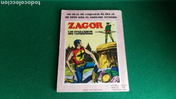 Cómics: ZAGOR BURU LAN - 1ª EDICIÓN - Nº 53 - Foto 2 - 221324186