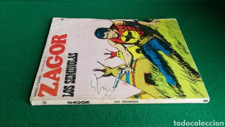 Cómics: ZAGOR BURU LAN - 1ª EDICIÓN - Nº 53 - Foto 3 - 221324186