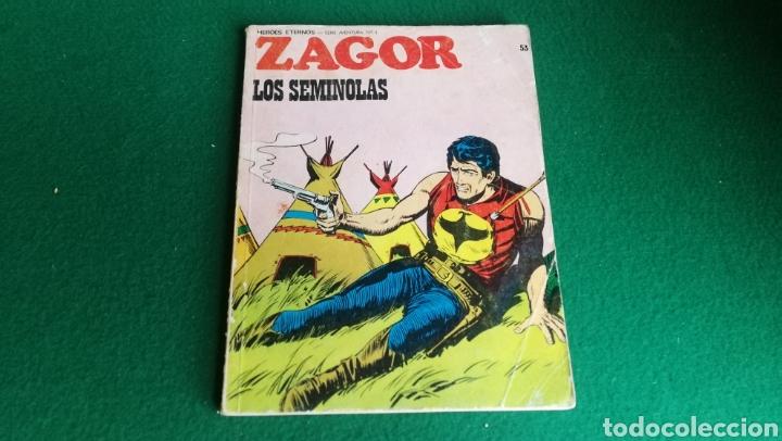 ZAGOR BURU LAN - 1ª EDICIÓN - Nº 53 (Tebeos y Comics - Buru-Lan - Zagor)