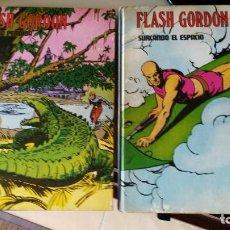 Cómics: FLASH GORDON 2 TOMOS CON MARCAS USO.. Lote 222971646