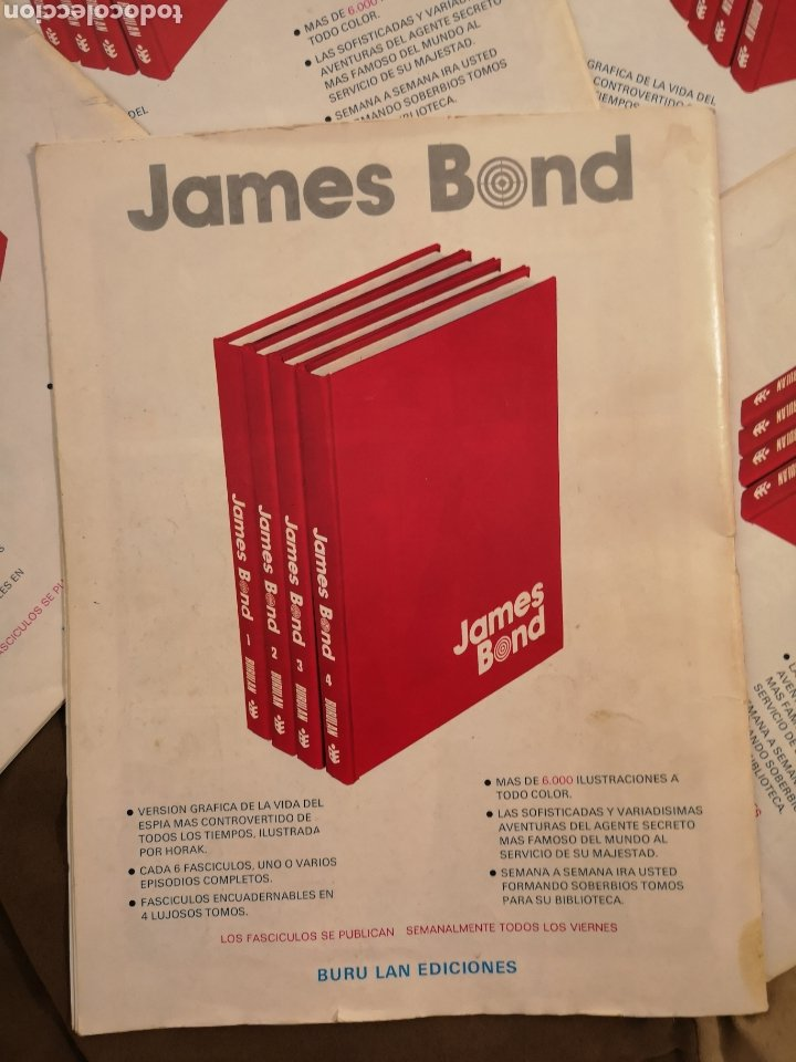 Cómics: James Bond 007. Colección agentes secretos ediccion es Buru Lan. - Foto 3 - 223015842