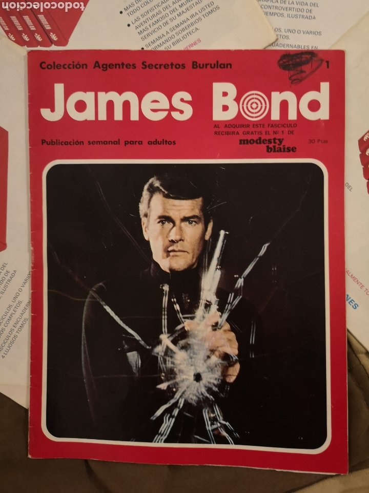 Cómics: James Bond 007. Colección agentes secretos ediccion es Buru Lan. - Foto 4 - 223015842