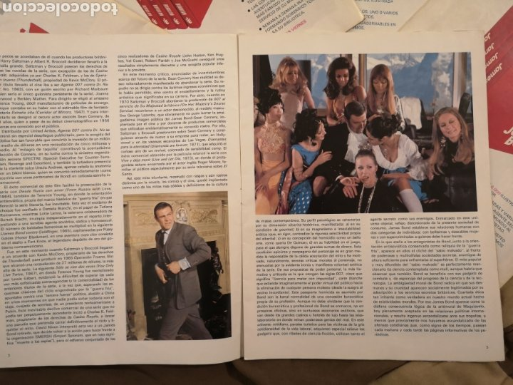 Cómics: James Bond 007. Colección agentes secretos ediccion es Buru Lan. - Foto 5 - 223015842