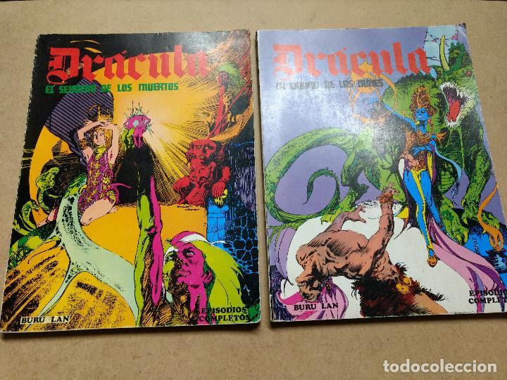 DRACULA LOTE 2 ALBUM EPISODIOS COMPLETOS 96 PAGINAS - ESTEBAN MAROTO / BURULAN BURU LAN (Tebeos y Comics - Buru-Lan - Otros)