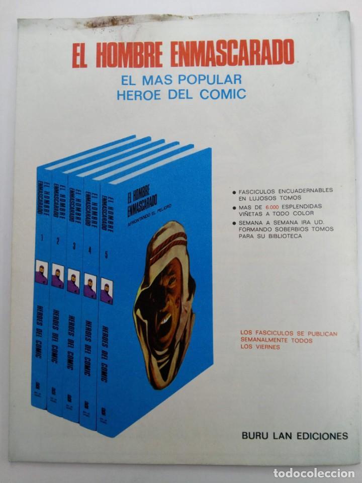 Cómics: EL HOMBRE ENMASCARADO Nº 37 - EL MAHARAJAH DE NIMPORE - BURU LAN COMICS - Foto 3 - 223218321