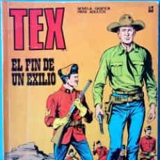 Cómics: TEX Nº 53 - EL FIN DE UN EXILIO - BURU-LAN. Lote 223602982