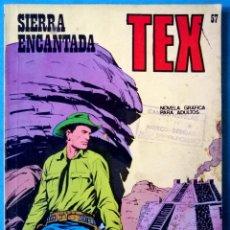 Cómics: TEX Nº 57 - SIERRA ENCANTADA - BURU-LAN. Lote 223603588