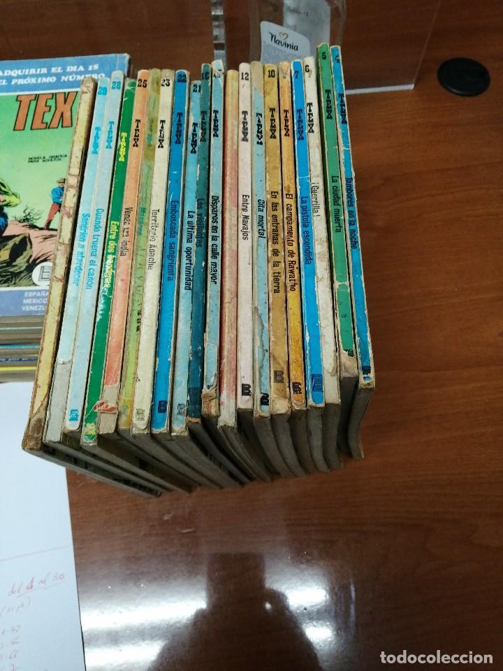 TEX - BURULAN - 1970 - 20 EJEMPLARES SUELTOS - ESTADO MITAD USADOS, MITAD BUENO - NO SE VENDEN SUELT (Tebeos y Comics - Buru-Lan - Tex)