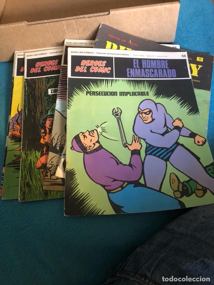 LOTE DE CÓMICS HÉROES DEL CÓMIC (Tebeos y Comics - Buru-Lan - Hombre Enmascarado)