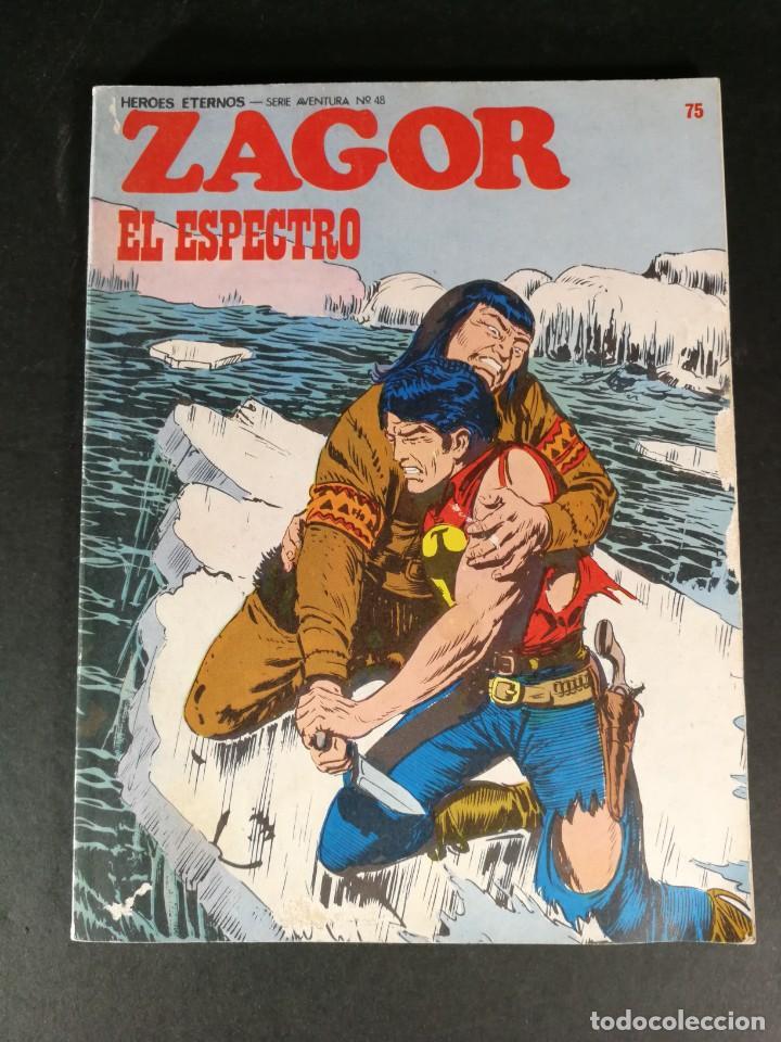 ZAGOR EL ESPECTRO Nº 75 BURULAN BURU-LAN (Tebeos y Comics - Buru-Lan - Zagor)