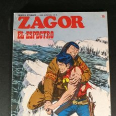 Cómics: ZAGOR EL ESPECTRO Nº 75 BURULAN BURU-LAN. Lote 224140187