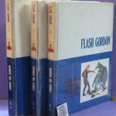 Cómics: FLASH GORDON - TOMO 1, 2, Y 3 - BURU LAN EDICIONES.. Lote 224587280