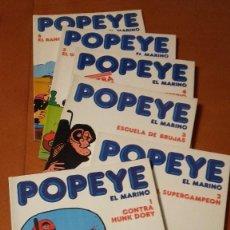 Cómics: POPEYE EL MARINO BURU LAN BURULAN COMPLETA 6 Nº.. Lote 224949267